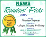 Readers Choice Award - 2005