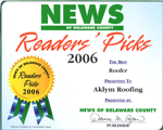 Readers Pick Award - 2006